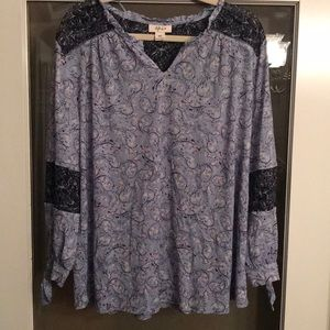 NWOT Style&Co Long Sleeve Women's Blouse Size XXL